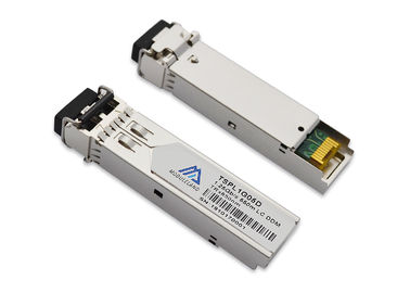 550m 850nm SMF SFP Fiber Transceiver Hot Pluggable RoHS Compliant Lead Free